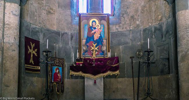Armenia, Monastery, Altar