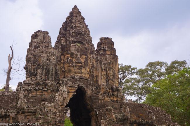 Cambodia, Angkor, Temple Tops