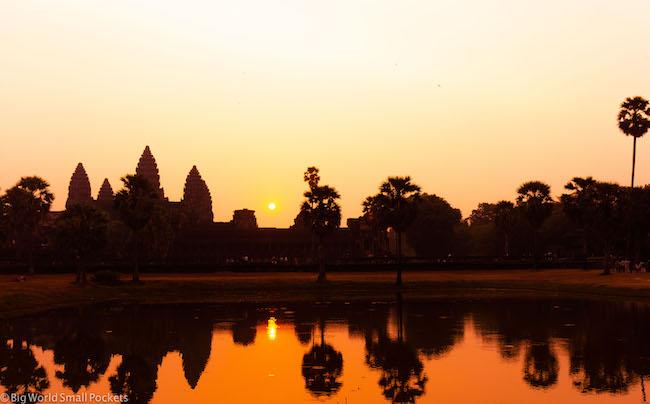 Cambodia, Angkor Wat Sunrise 13