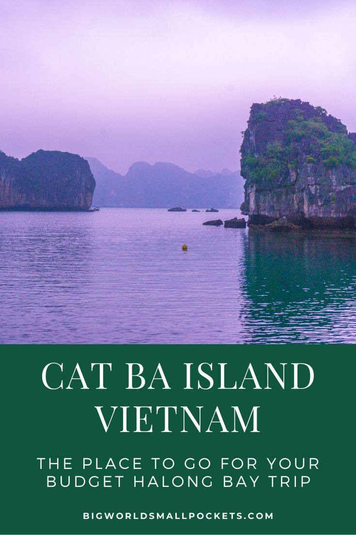 Cat Ba Island, Vietnam - The Place for Budget Halong Bay Trips