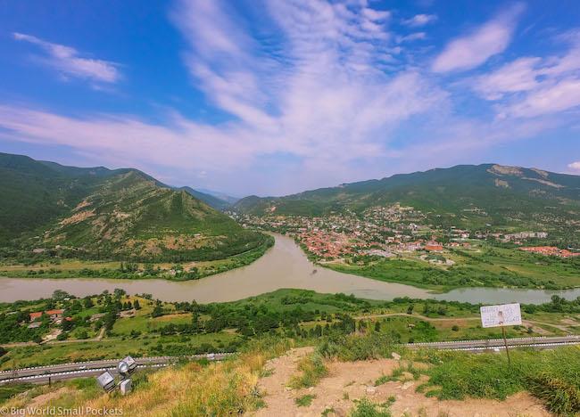 Georgia, Jvari Monastery, Views