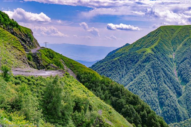 Georgia, Tusheti, Mountains