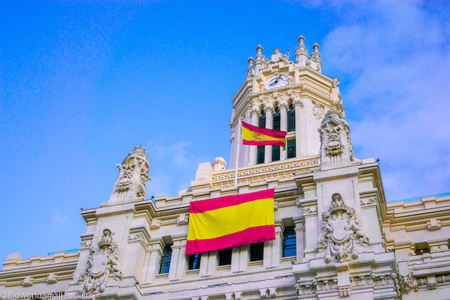 Madrid, Spain, Flag