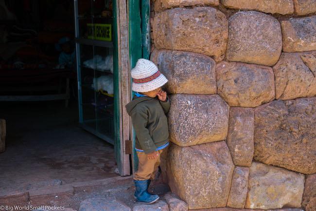 Peru, Cusco, Boy