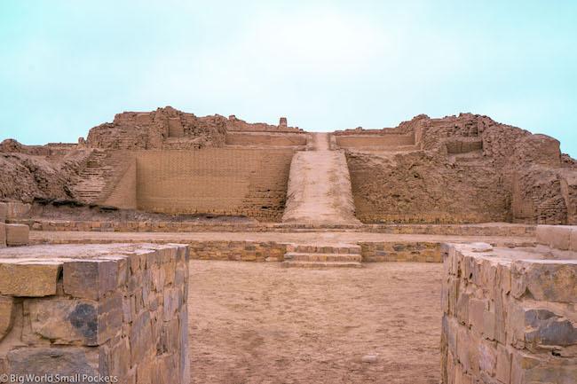 Peru, Pachacamac, Ruins