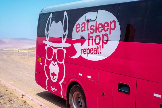 Peru, Peru Hop, Bus