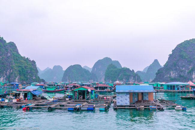 Vietnam, Cat Ba Island, Fishing Village