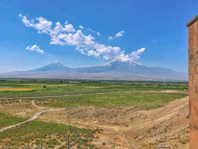 Armenia, Khor Virab, Mountain in Turkey