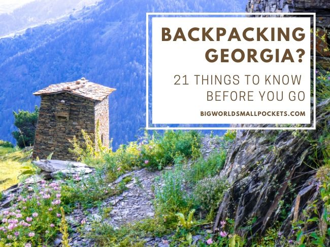 Backpacking Georgia