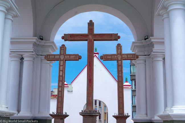 Bolivia, Copacabana, Church