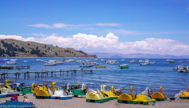Bolivia, Copacabana, Lake Titicaca