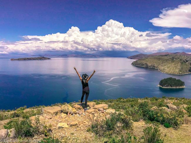 Bolivia, Isla Del Sol, Me,