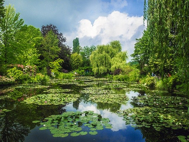 France, Giverny, Gardens