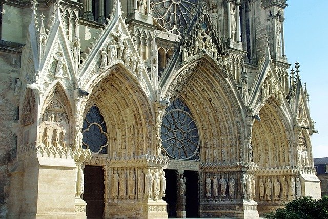 France, Reims, Cathedral
