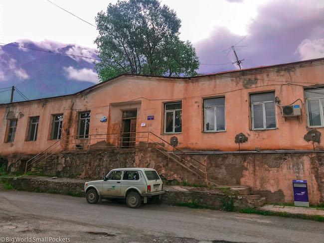 Georgia, Kazbegi, Post Office