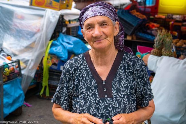 Georgia, Tbilisi, Lady