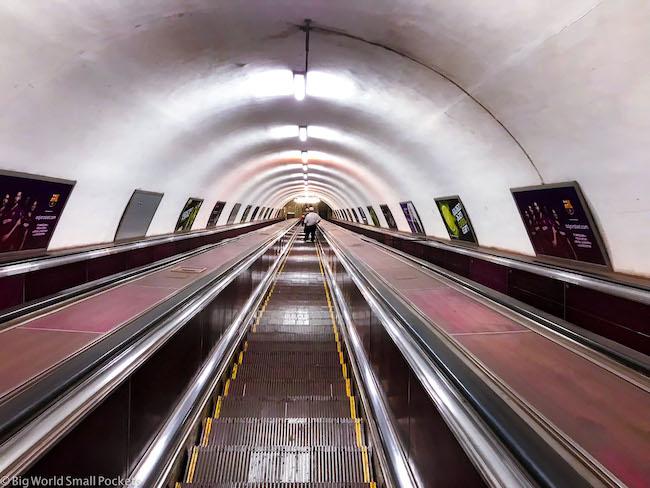 Georgia, Tbilisi, Metro