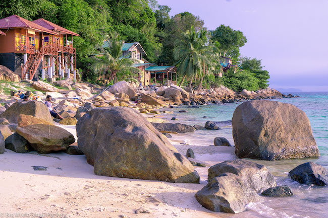 Malaysia, Perhentian, Coral Bay