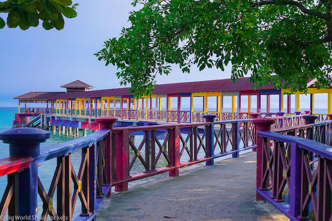 Malaysia, Perhentian Island, Kecil Pier