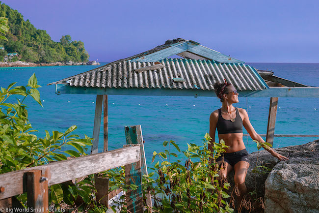 Malaysia, Perhentian Island, Me