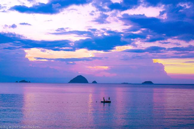 Malaysia, Perhentian Island, Sunset