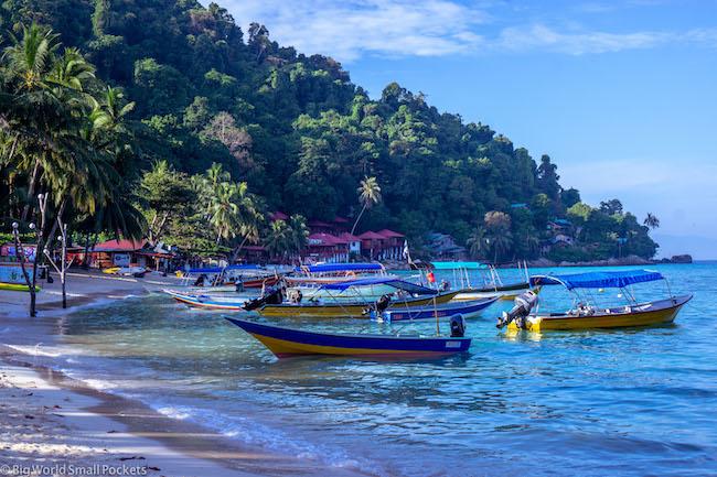 Malaysia, Perhentian Islands, Boats
