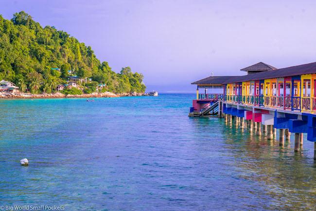 Malaysia, Perhentian, Pier