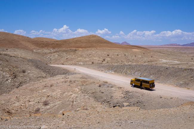 Namibia, Desert, Overland Truck