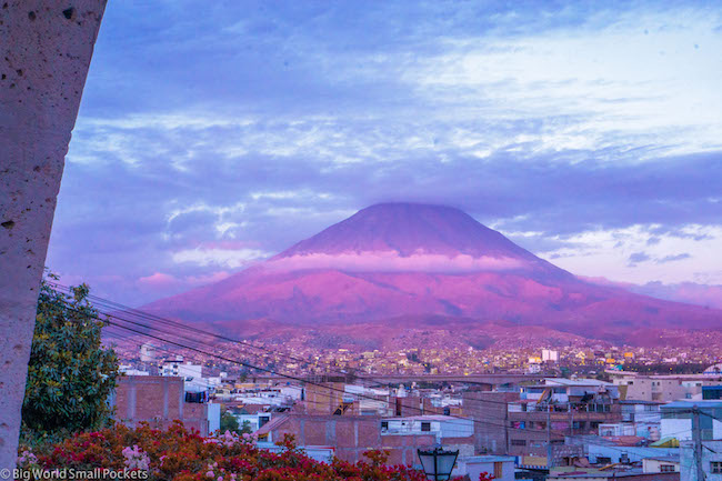 Peru, Arequipa, Volcan Misti