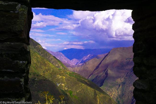 Peru, Choquequirao, Arch