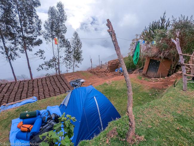 Peru, Choquequirao, Camping