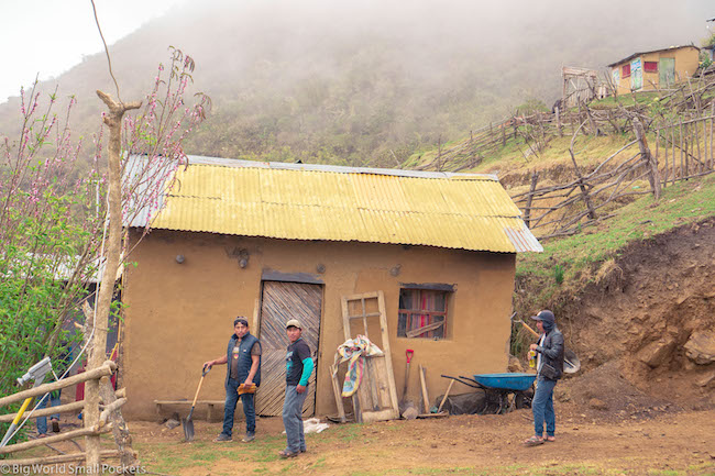 Peru, Choquequirao, Campsite