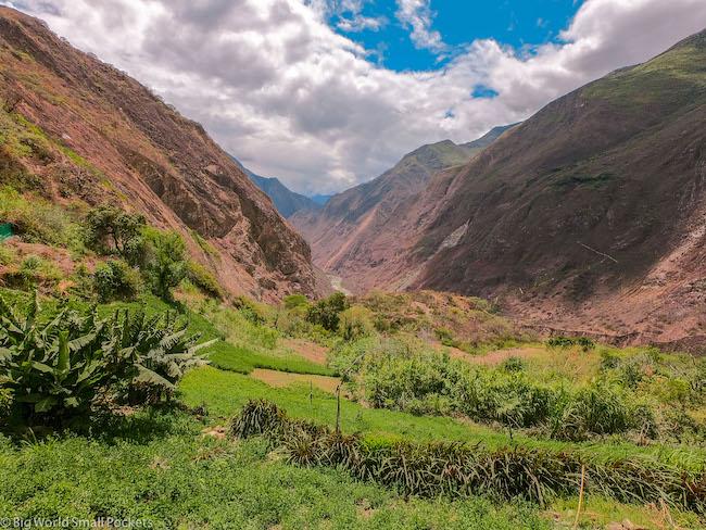 Peru, Choquequirao, Canyon