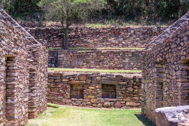 Peru, Choquequirao, Central Ruins