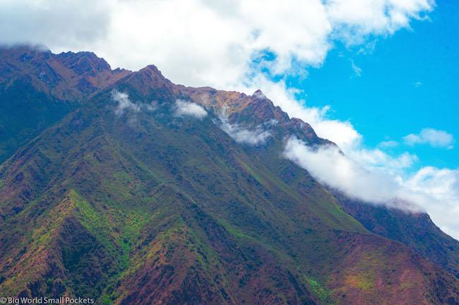Peru, Choquequirao, Clouds