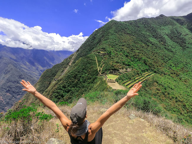 Peru, Choquequirao, Me