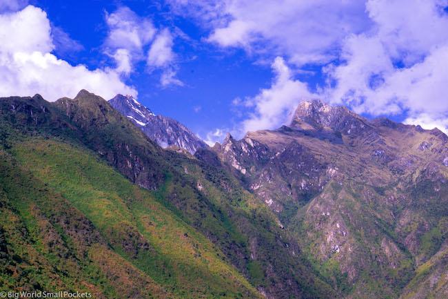 Peru, Choquequirao, Peaks