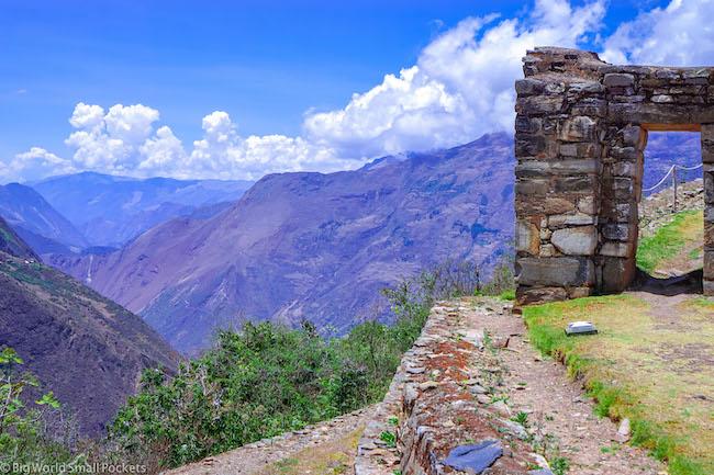 Peru, Choquequirao, Ruins
