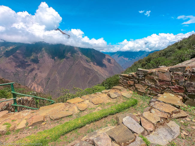 Peru, Choquequirao, Terracces