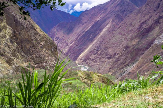 Peru, Choquequirao, Valley