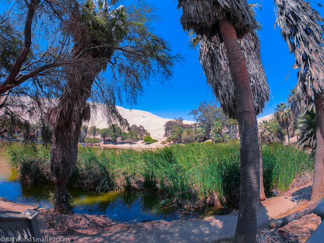 Peru, Huacachina, Oasis