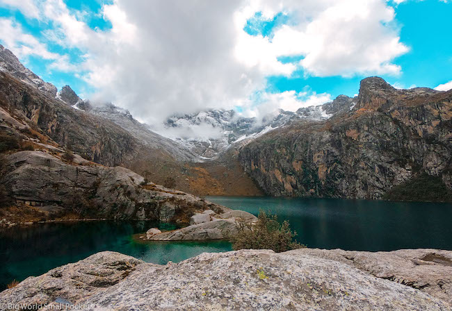 Peru, Huascaran National Park, Lake Churup