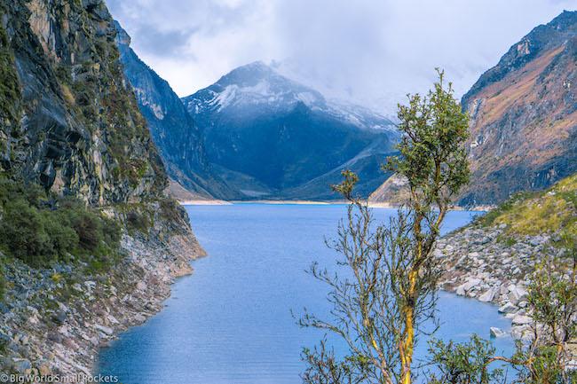 Peru, Huascaran National Park, Lake Peron