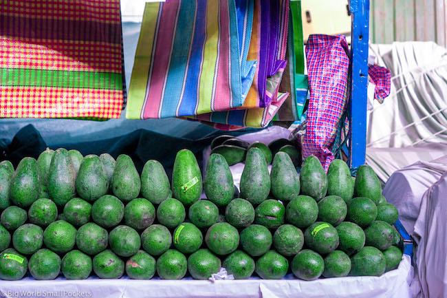 Peru, Market, Avocado