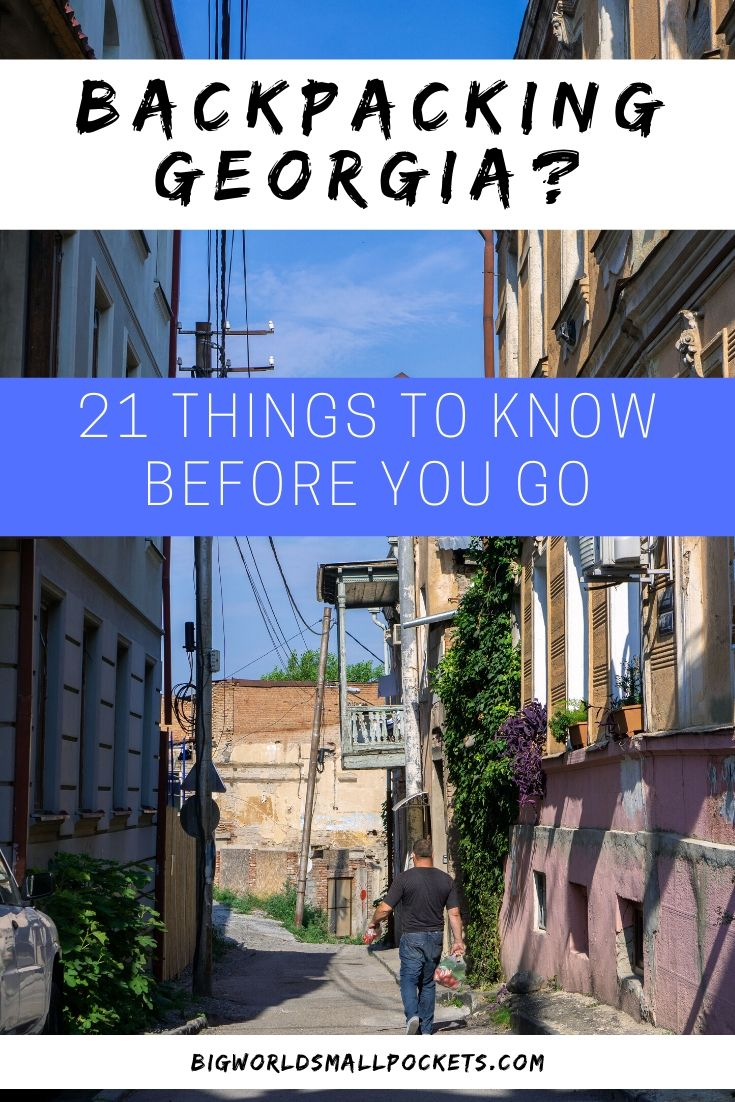 Plan to Backpack Georgia? 21 Things to Know Before You Go
