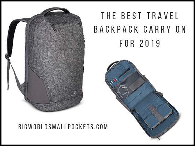 4505d776f69a The Best Travel Backpack Carry On for 2019 - Big World Small Pockets