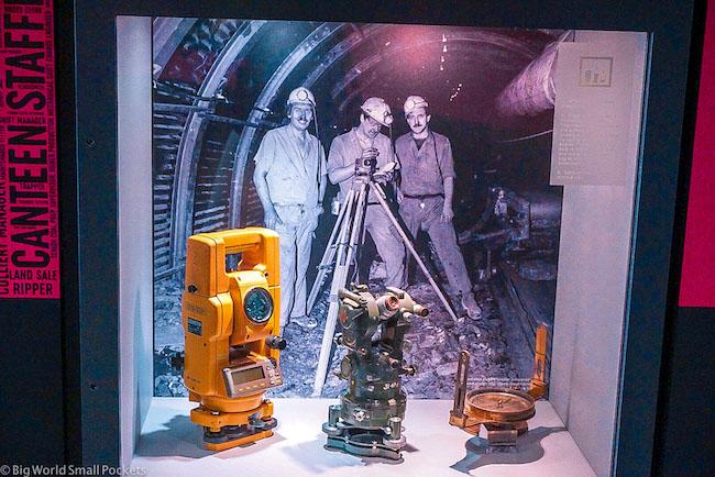 UK, Leeds, Coal Mining Museum