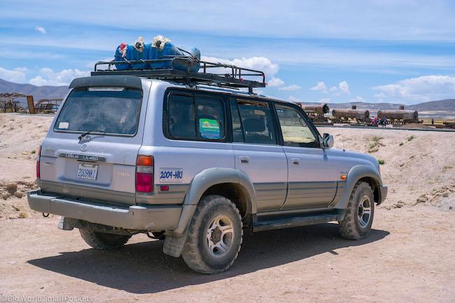 Bolivia, Salar, 4wd