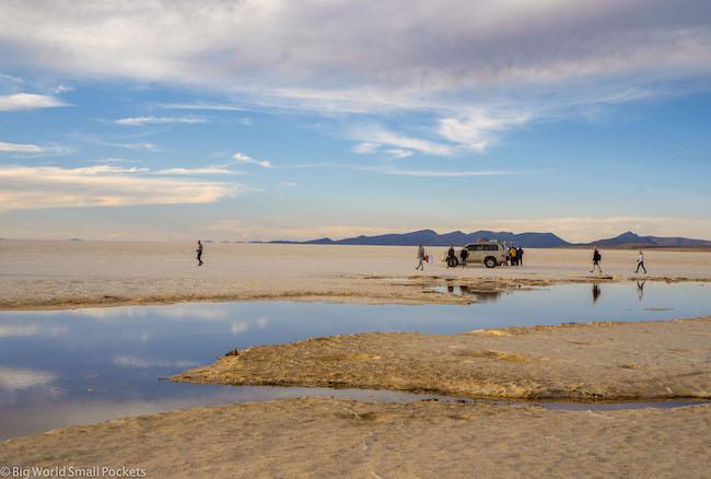 Bolivia, Salar de Uyuni Tour, Sunset