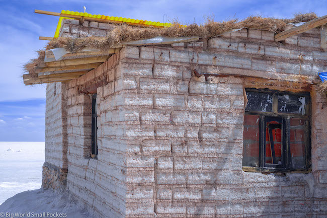 Bolivia, Uyuni, Salt Hotel